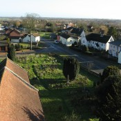 Taken in January 2008 from the church tower of Upper Rose Lane and is a good comparison with an image in the 'Palgrave Then' Gallery taken from an identical position in the 1960's