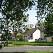 Taken in May 2008 and was taken from the pond on the Green looking across the entance of Lows Lane.