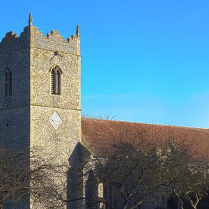 Palgrave Church February morning 2015